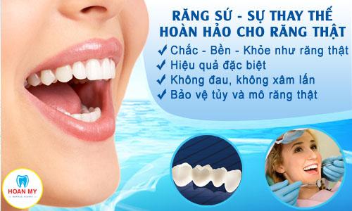 Răng sứ sự thay thế hoàn hảo